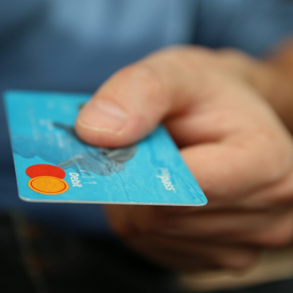 customer offering credit card retail